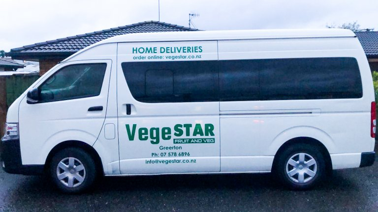 We Deliver all over Tauranga